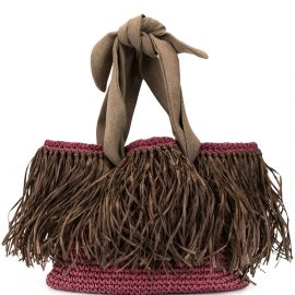 0711 Malibu beach bag - PURPLE