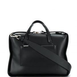 1017 ALYX 9SM boxy leather tote - Black
