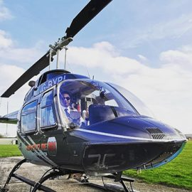 15 Minute Helicopter Tour for One with Bubbly