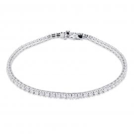 18ct White Gold 2.00ct Diamond Bracelet