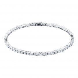 18ct White Gold 3cttw Diamond Tennis Bracelet