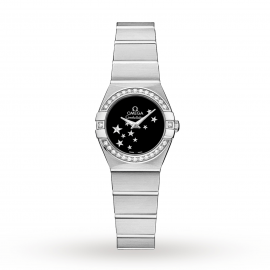 Omega Constellation 24mm Ladies Watch O12315246001001