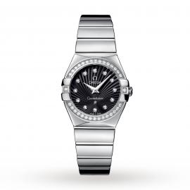 Omega Constellation 27mm Ladies Watch O12315276051002