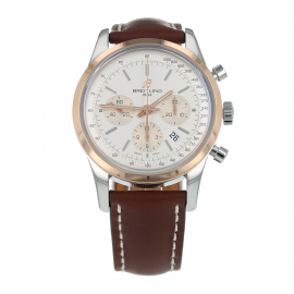 Pre-Owned Breitling Transocean Chronograph Mens Watch UB0152
