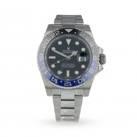Pre-Owned Rolex GMT-Master II Mens Watch 116710BLNR