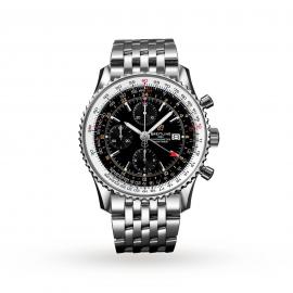 Breitling Navitimer Chronograph GMT 46mm Mens Watch A24322121B2A1