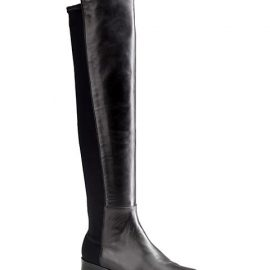 5050 Over-The-Knee Stretch-Leather Boots