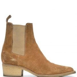 AMIRI Crepe Chelsea boots - Neutrals