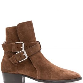 AMIRI buckle Chelsea boots - Black