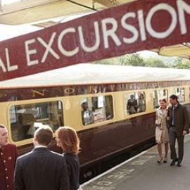 Afternoon Tea on the Northern Belle Luxury Train