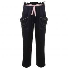 Agent Provocateur Ezra Pyjama Bottom In Black Silk