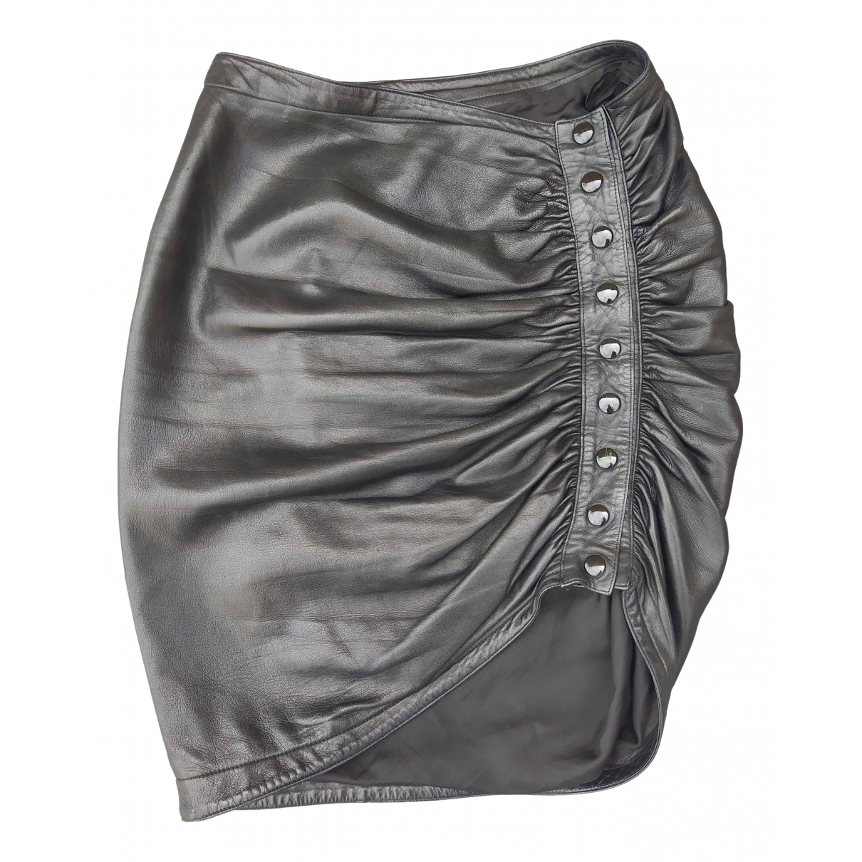 Alaïa N Black Leather Skirt for Women