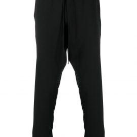 Alchemy straight-leg pyjama trousers - Black