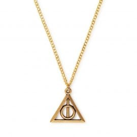 Alex And Ani Harry Potter Gold Deathly Hallows Necklace