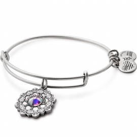 Alex And Ani Silver Mother of the Bride Charm Bangle