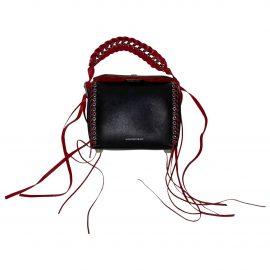 Alexander McQueen Box leather mini bag