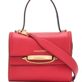 Alexander McQueen The Story shoulder bag - Red