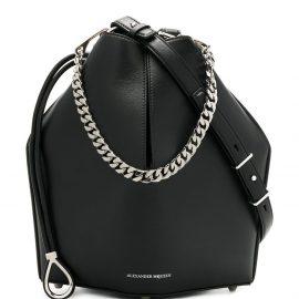 Alexander McQueen bucket bag - Black