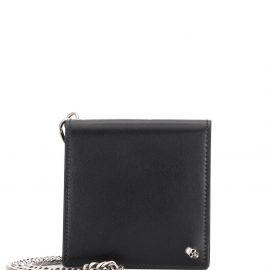 Alexander McQueen chain detail wallet - Black