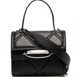 Alexander McQueen diamond-quilt tote bag - Black