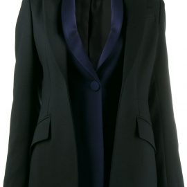 Alexander McQueen double placket blazer - Black