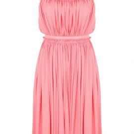 Alexander McQueen gathered short dress - PINK