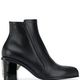 Alexander McQueen side-zip fastening boots - Black