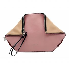 Alexander Mcqueen Manta Pink Leather Clutch Bag for Women