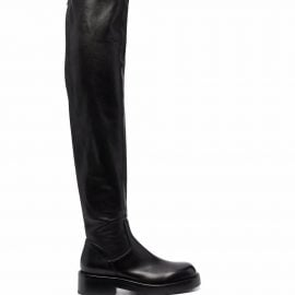 Ann Demeulemeester Nicky Otk thigh-high boots - Black