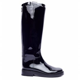 Ann Demeulemeester Patent leather riding boots