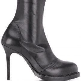 Ann Demeulemeester high-heel ankle boots - Black