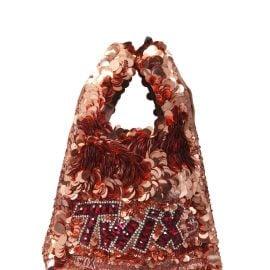 Anya Hindmarch Mini Brands Twix Tote Bag