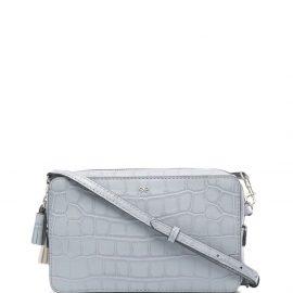 Anya Hindmarch croco-effect shoulder bag - Neutrals