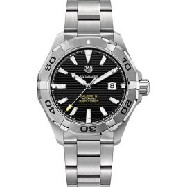 Aquaracer 43MM Stainless Steel Automatic Bracelet Watch