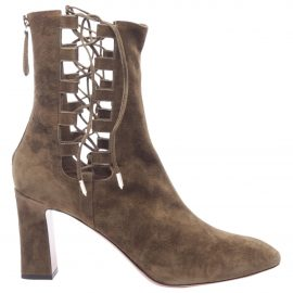 Aquazzura N Green Leather Ankle boots for Women
