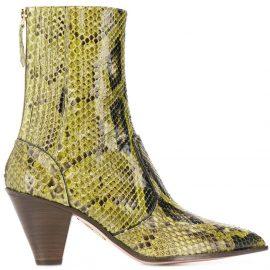 Aquazzura Saint Honore' 70 boots - Green