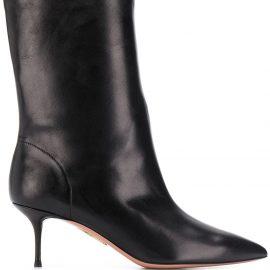 Aquazzura mid-heeled ankle boots - Black