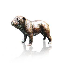Art In Bronze Bull Dog Figurine
