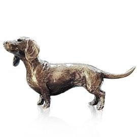 Art In Bronze Dachshund Figurine