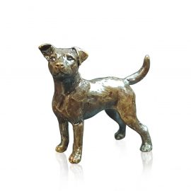 Art In Bronze Jack Russell Figurine