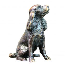 Art In Bronze Spaniel Figurine