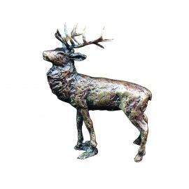 Art In Bronze Stag Figurine