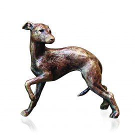 Art In Bronze Whippet Figurine