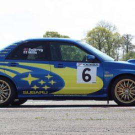 Aston Martin versus Rally Thrill in Staffordshire