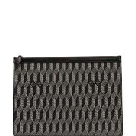 Au Départ woven laptop bag - Black