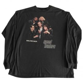 Balenciaga Anthracite Cotton T-shirt