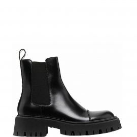 Balenciaga Chelsea Tractor Leather Boots