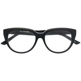 Balenciaga Eyewear BB cat-eye glasses - Black