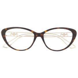 Balenciaga Eyewear tortoiseshell cat eye glasses - Brown