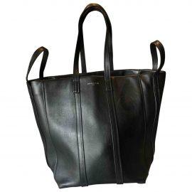 Balenciaga Laundry Cabas leather tote